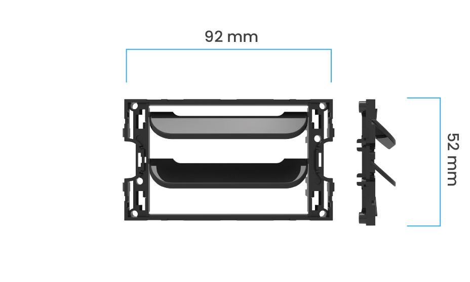Dimensioni griglia vmc Disappair 503