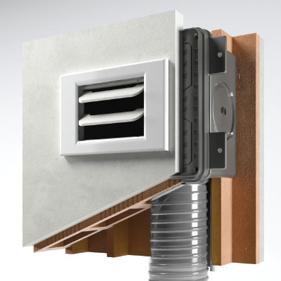 Disappair 503 vent for walls starting from 10 cm thickness